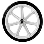 Rubbermaid M1565400 Wheel for 5654-61