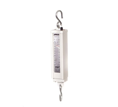 Rubbermaid FG007895000000 Pelouze Mechanical Hanging Vertical Scale - 50-lb x 1-lb/22.5-kg x 0.5-kg
