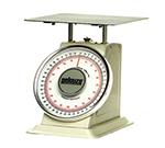 Rubbermaid FG10B100 Pelouze Dial-Type Scale - 100-lb x 4-oz/45-kg x 100-g