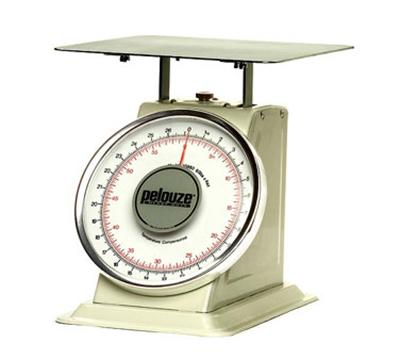 Rubbermaid FG10B60 Pelouze Dial-Type Scale - 60-lb x 4-oz/27-kg x 100-g