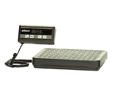 Rubbermaid FG404088 Pelouze Digital Receiving Scale - 400-lb x 0.5-lb/180-kg x 0.2-kg