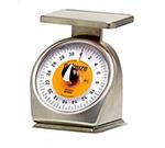 Rubbermaid FG632SRWQ Pelouze Portion Scale - Dial-Type, Counter Model, 32-oz x 1/4-oz Stainless
