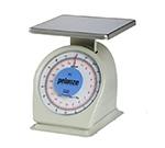Rubbermaid FG820BW Pelouze Portion Scale - Dial Type, 10-lb x 1-oz/9-kg x25-g, Blue Lens, Stainless