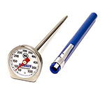 Rubbermaid FGTHP550DS Candy/Deep Fry Thermometer - Dial Type with Clip, 50 to 550 F Stainless
