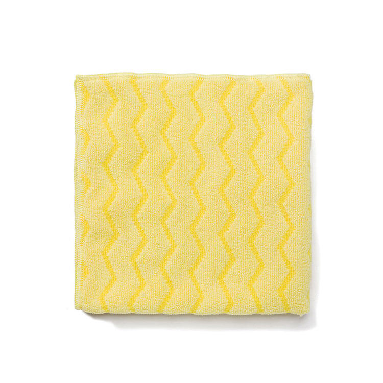 "Rubbermaid FGQ61006YL00 16"" Square Hygen Bathroom Cloth - (6) Pack, Microfiber, Yellow"