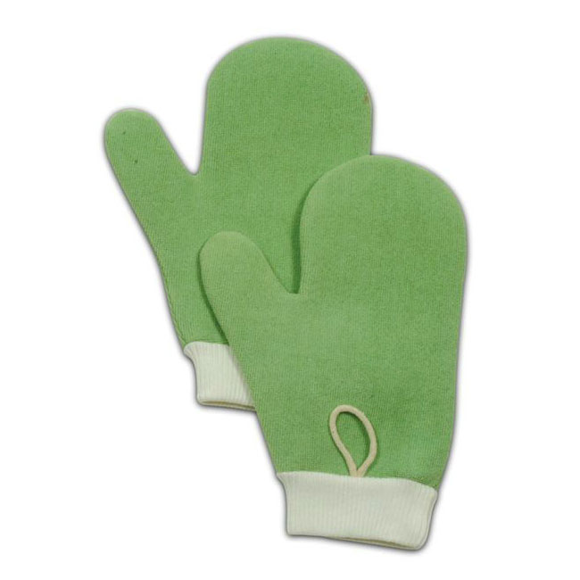 Rubbermaid FGQ65000GR00 Hygen All-Purpose Mitt with Thumb - Microfiber, Green