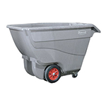 Rubbermaid FG9T1600 BLA Heavy-Duty Tilt Truck - 2100-lb Capacity, 1 cu yd, Black