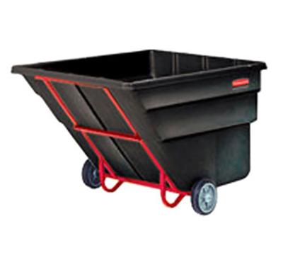 "Rubbermaid FG102500 BLA Tilt Truck - Standard Duty, 1200-lb Capacity, 80-1/2""x43""x49-1/2"" Black"