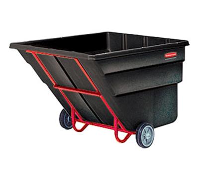 "Rubbermaid FG103500BLA Tilt Truck - Standard Duty, 1900-lb Capacity 81-1/4x46-3/4x50"" Black"