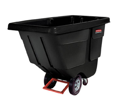 "Rubbermaid FG130600BLA Tilt Truck - Heavy Duty, 1400-lb Capacity 60-1/2""x28""x38-5/8"" Black"
