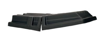 """Rubbermaid FG131700BLA Tilt Truck Lid - 69-1/2x34x8-1/2"""" Black"""