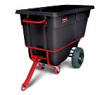 Rubbermaid FG131641BLA Towable Tilt Truck