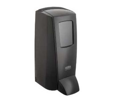 Rubbermaid 1780886 Manual Soap Dispenser - 2000-ml, Wall Mount, Black