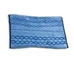 Rubbermaid 1791791 Microfiber Wet/Scrub Mop Plus Head - Double-Sided, Blue