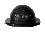Rubbermaid FG2030BK Dome Top - (H12) - Steel, Black