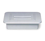 "Rubbermaid FG334992GRAY Bus/Utility Box - (Bulk Pack) 20x15x5"" Gray"