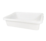 "Rubbermaid FG334992WHT Bus/Utility Box - (Bulk Pack) 20x15x5"" White"