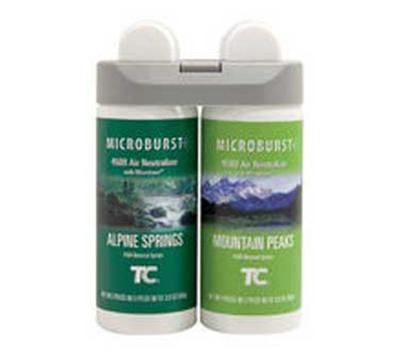 Rubbermaid 3485950 Microburst Duet Refill - Alpine Spring/Mountain Peaks