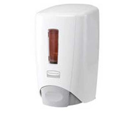Rubbermaid 3486589 Manual Skin Care Dispenser - 500-ml Wall Mount, White