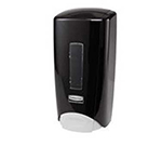 Rubbermaid 3486592 Manual Skin Care Dispenser - 1000/1300-ml Wall Mount, Black