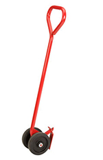 Rubbermaid FG449200RED Semi-Live Skid Jack Handle - Red