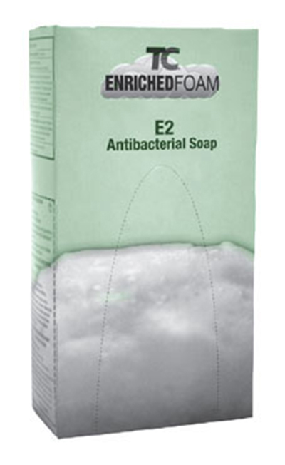Rubbermaid FG450031 800-ml Antibacterial Enriched Foam Soap Refill