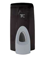 Rubbermaid FG450034 Foam Skin Care Dispenser - Wall-Mount, 800/1000-ml, Black