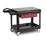 Rubbermaid FG453588 BLA TradeMaster Mobile Professional Contractor Cart, Black
