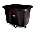 Rubbermaid FG461900 BLA Cube Truck - 20 cu ft, 600-lb Capacity, Black