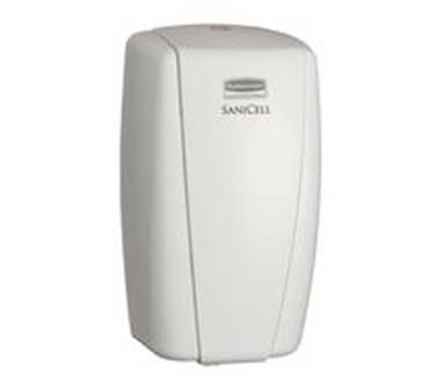 "Rubbermaid 4870485 SaniCell Wall Service Dispenser - 3x5-1/5x7-3/5"" White"