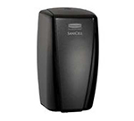 "Rubbermaid 4870487 SaniCell Wall Service Dispenser - 3x5-1/5x7-3/5"" Black"