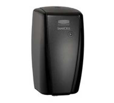 "Rubbermaid 4870491 SaniCell Wall LED Dispenser - 3x5-1/5x7-3/5"" Black"