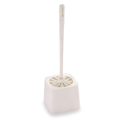 """Rubbermaid FG631000 WHT 14-1/2"""" Toilet Bowl Brush - Poly White"""
