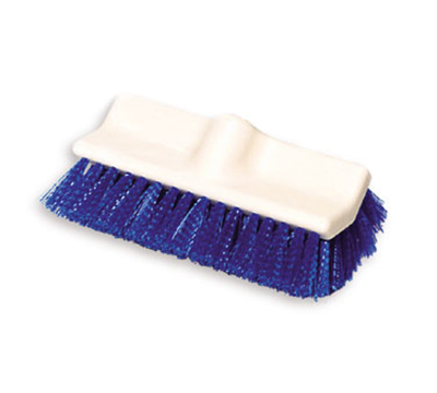 "Rubbermaid FG633700 BLUE 10"" Floor Scrub Brush - Poly Blue"
