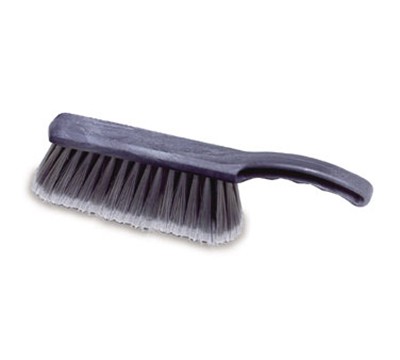 "Rubbermaid FG634200 SILV 12-1/2"" Brush - Silver"
