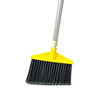 Rubbermaid FG638906BLA Smooth Sweep Angle Broom - Metal/Poly Black