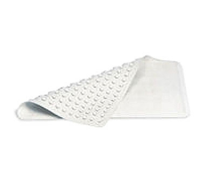 Rubbermaid FG704304 WHT Safti-Grip Bathmat - 36x18, Suction-Backed, White