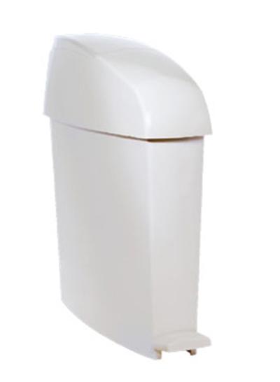 Rubbermaid FG750244 3-gal Sanitary Waste Bin - Gray