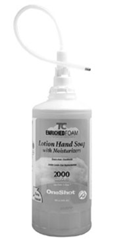 Rubbermaid FG750386 1600-ml Liquid Lotion Soap Refill - Light Citrus