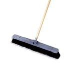 "Rubbermaid FG9B0500 BLA 36"" Floor Sweep - Fine, Wood/Tampico, Black"
