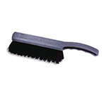 """Rubbermaid FG9B2700 BLA 8"""" Counter Brush - Curved Handle, Poly Fill, Black"""
