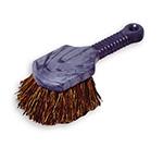 """Rubbermaid FG9B2800 BRN 8"""" Utility Brush - Plastic Handle, Palmyra Fill,  Brown"""