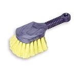 "Rubbermaid FG9B2900 YEL 8"" Utility Brush - Plastic Handle, Synthetic Fill,  Yellow"