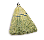 "Rubbermaid FG9B5500 YEL 12.25"" Corn Whisk Broom - Yellow"