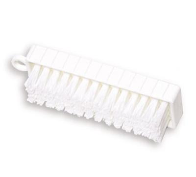 "Rubbermaid FG9B5800 WHT 4.75"" Hand and Nail Brush - Poly Bristles, Plastic, White"