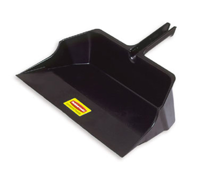 Rubbermaid FG9B6000 BLA Jumbo Dust Pan - Black