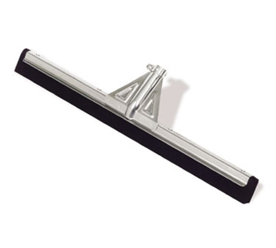 "Rubbermaid FG9C2900 BLA 30"" Heavy-Duty Floor Squeegee - Flexible Blade, Black"