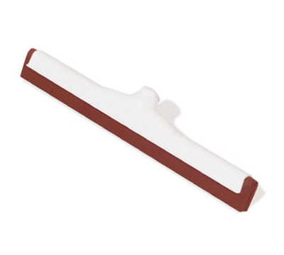 "Rubbermaid FG9C4300 RED 18"" Professional Floor Squeegee - Twin Neoprene Blade, Red"