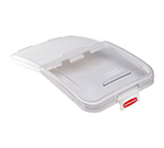 """Rubbermaid FG9F7900 CLR ProSave Ingredient Bin Lid with 32-oz Scoop - 29x17.2"""" Clear"""