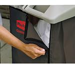 Rubbermaid FG9T0400 BRN Linen Accessory Bag - Canvas, Brown